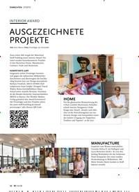 Titelbild der Ausgabe 6/2020 von INTERIOR AWARD: AUSGEZEICHNETE PROJEKTE. Zeitschriften als Abo oder epaper bei United Kiosk online kaufen.