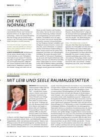 Titelbild der Ausgabe 8/2020 von AKTUELL: INTERVIEW ULRICH WINDMÖLLER: DIE NEUE NORMALITÄT. Zeitschriften als Abo oder epaper bei United Kiosk online kaufen.