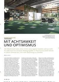 Titelbild der Ausgabe 8/2020 von MARKTANALYSE: MIT ACHTSAMKEIT UND OPTIMISMUS. Zeitschriften als Abo oder epaper bei United Kiosk online kaufen.