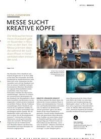 Titelbild der Ausgabe 10/2020 von AKTUELL: HEIM+HANDWERK: MESSE SUCHT KREATIVE KÖPFE. Zeitschriften als Abo oder epaper bei United Kiosk online kaufen.