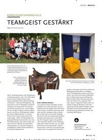 Titelbild der Ausgabe 10/2020 von AKTUELL: KERSCHENSTEINERSCHULE: TEAMGEIST GESTÄRKT. Zeitschriften als Abo oder epaper bei United Kiosk online kaufen.
