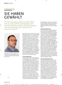 Titelbild der Ausgabe 11/2020 von KOMMENTAR: SIE HABEN GEWÄHLT. Zeitschriften als Abo oder epaper bei United Kiosk online kaufen.