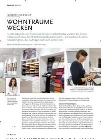 Titelbild der Ausgabe 11/2020 von WORKSHOP-EVENT: WOHNTRÄUME WECKEN. Zeitschriften als Abo oder epaper bei United Kiosk online kaufen.