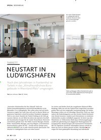 Titelbild der Ausgabe 11/2020 von TARKETT: NEUSTART IN LUDWIGSHAFEN. Zeitschriften als Abo oder epaper bei United Kiosk online kaufen.