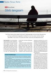 Titelbild der Ausgabe 7/2008 von Stirb langsam: TEST Rürup-Renten. Zeitschriften als Abo oder epaper bei United Kiosk online kaufen.