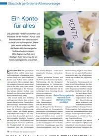 Titelbild der Ausgabe 11/2010 von Ein Konto für alles. Zeitschriften als Abo oder epaper bei United Kiosk online kaufen.