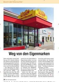 Titelbild der Ausgabe 6/2009 von Weg von den Eigenmarken. Zeitschriften als Abo oder epaper bei United Kiosk online kaufen.