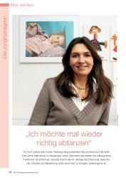 """Titelbild der Ausgabe 8/2008 von Die Jungmanagerin: """"Ich möchte mal wieder richtig abtanzen"""". Zeitschriften als Abo oder epaper bei United Kiosk online kaufen."""