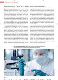 Titelbild der Ausgabe 98/2011 von Warum macht ÖKO-TEST keine Wirksamkeitstests?. Zeitschriften als Abo oder epaper bei United Kiosk online kaufen.