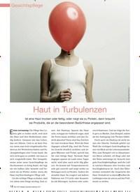 Titelbild der Ausgabe 98/2011 von Haut in Turbulenzen. Zeitschriften als Abo oder epaper bei United Kiosk online kaufen.