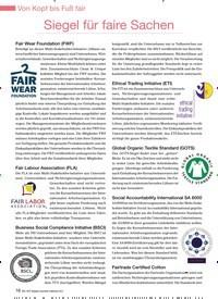 Titelbild der Ausgabe 94/2012 von Siegel für faire Sachen. Zeitschriften als Abo oder epaper bei United Kiosk online kaufen.