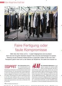 Titelbild der Ausgabe 94/2012 von Faire Fertigung oder faule Kompromisse. Zeitschriften als Abo oder epaper bei United Kiosk online kaufen.