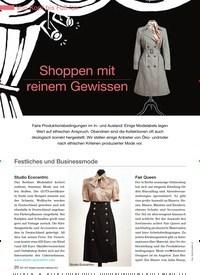 Titelbild der Ausgabe 94/2012 von Shoppen mit reinem Gewissen. Zeitschriften als Abo oder epaper bei United Kiosk online kaufen.