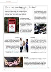Titelbild der Ausgabe 96/2014 von Wohin mit den abgelegten Sachen?. Zeitschriften als Abo oder epaper bei United Kiosk online kaufen.