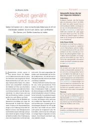 Titelbild der Ausgabe 96/2014 von Zertifizierte Stoffe: Selbst genäht und sauber. Zeitschriften als Abo oder epaper bei United Kiosk online kaufen.