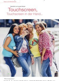 Titelbild der Ausgabe 5/2017 von Selbstbild und soziale Medien: Touchscreen, Touchscreen in der Hand…. Zeitschriften als Abo oder epaper bei United Kiosk online kaufen.