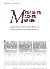 Titelbild der Ausgabe 6/2019 von EXPERTEN IM PORTRÄT: MENSCHEN ACHEN ARKEN. Zeitschriften als Abo oder epaper bei United Kiosk online kaufen.