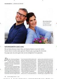 Titelbild der Ausgabe 6/2019 von EXPERTEN IM PORTRÄT: NATURKOSMETIK GANZ JUNG. Zeitschriften als Abo oder epaper bei United Kiosk online kaufen.