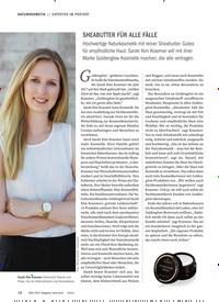 Titelbild der Ausgabe 6/2019 von EXPERTEN IM PORTRÄT: SHEABUTTER FÜR ALLE FÄLLE. Zeitschriften als Abo oder epaper bei United Kiosk online kaufen.