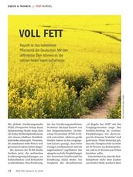 Titelbild der Ausgabe 10/2018 von TEST RAPSÖL: VOLL FETT. Zeitschriften als Abo oder epaper bei United Kiosk online kaufen.