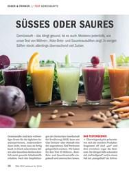 Titelbild der Ausgabe 10/2018 von TEST GEMÜSESÄFTE: SÜSSES ODER SAURES. Zeitschriften als Abo oder epaper bei United Kiosk online kaufen.