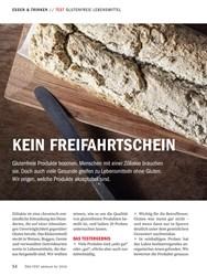 Titelbild der Ausgabe 10/2018 von TEST GLUTENFREIE LEBENSMITTEL: KEIN FREIFAHRTSCHEIN. Zeitschriften als Abo oder epaper bei United Kiosk online kaufen.
