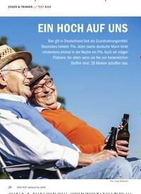 Titelbild der Ausgabe 10/2019 von TEST BIER: EIN HOCH AUF UNS. Zeitschriften als Abo oder epaper bei United Kiosk online kaufen.