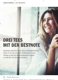 Titelbild der Ausgabe 10/2019 von TEST KRÄUTERTEE: DREI TEES MIT DER BESTNOTE. Zeitschriften als Abo oder epaper bei United Kiosk online kaufen.