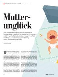 Titelbild der Ausgabe 4/2020 von Wochenbettdepression: Mutterunglück. Zeitschriften als Abo oder epaper bei United Kiosk online kaufen.