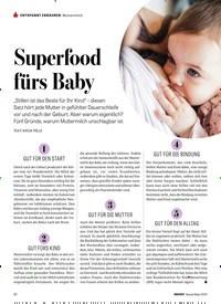 Titelbild der Ausgabe 4/2020 von Muttermilch: Superfood fürs Baby. Zeitschriften als Abo oder epaper bei United Kiosk online kaufen.