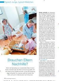 Titelbild der Ausgabe 10/2008 von Brauchen Eltern Nachhilfe?. Zeitschriften als Abo oder epaper bei United Kiosk online kaufen.