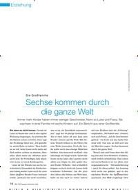Titelbild der Ausgabe 9/2009 von Die Großfamilie: Sechse kommen durch die ganze Welt. Zeitschriften als Abo oder epaper bei United Kiosk online kaufen.