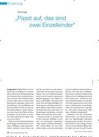 """Titelbild der Ausgabe 9/2009 von Zwillinge: """"Passt auf, das sind zwei Einzelkinder"""". Zeitschriften als Abo oder epaper bei United Kiosk online kaufen."""
