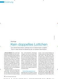 Titelbild der Ausgabe 9/2009 von Zwillinge: Kein doppeltes Lottchen. Zeitschriften als Abo oder epaper bei United Kiosk online kaufen.
