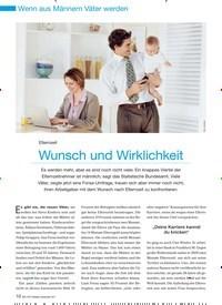 Titelbild der Ausgabe 9/2011 von Elternzeit: Wunsch und Wirklichkeit. Zeitschriften als Abo oder epaper bei United Kiosk online kaufen.