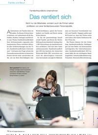 Titelbild der Ausgabe 9/2014 von Familienfreundliche Unternehmen: Das rentiert sich. Zeitschriften als Abo oder epaper bei United Kiosk online kaufen.