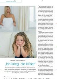 """Titelbild der Ausgabe 9/2014 von Familiäres Krisenmanagement: """"Ich krieg' die Krise!"""". Zeitschriften als Abo oder epaper bei United Kiosk online kaufen."""