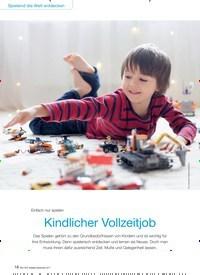 Titelbild der Ausgabe 9/2017 von Einfach nur spielen: Kindlicher Vollzeitjob. Zeitschriften als Abo oder epaper bei United Kiosk online kaufen.