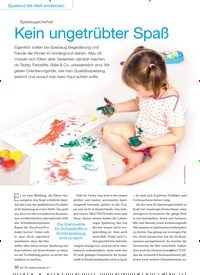 Titelbild der Ausgabe 9/2017 von Spielzeugsicherheit: Kein ungetrübter Spaß. Zeitschriften als Abo oder epaper bei United Kiosk online kaufen.
