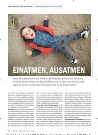 Titelbild der Ausgabe 9/2018 von GEMEINSAM DURCH DIE TROTZPHASE: EINATMEN, AUSATMEN. Zeitschriften als Abo oder epaper bei United Kiosk online kaufen.
