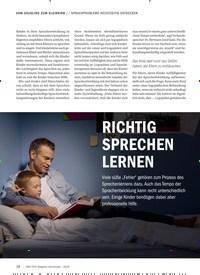 Titelbild der Ausgabe 9/2018 von SPRACHPROBLEME RECHTZEITIG ENTDECKEN: RICHTIG SPRECHEN LERNEN. Zeitschriften als Abo oder epaper bei United Kiosk online kaufen.
