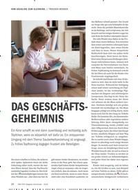 Titelbild der Ausgabe 9/2018 von TROCKEN WERDEN: DAS GESCHÄFTS-GEHEIMNIS. Zeitschriften als Abo oder epaper bei United Kiosk online kaufen.