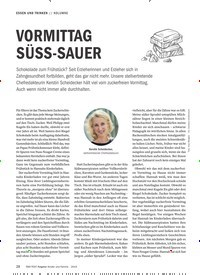 Titelbild der Ausgabe 9/2019 von KOLUMNE: VORMITTAG SÜSS-SAUER. Zeitschriften als Abo oder epaper bei United Kiosk online kaufen.