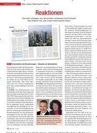 Titelbild der Ausgabe 3/2013 von Nachwirkungen Was unsere Tests bewirkt haben: Reaktionen. Zeitschriften als Abo oder epaper bei United Kiosk online kaufen.