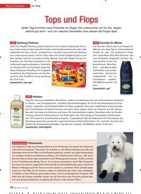 Titelbild der Ausgabe 3/2013 von Neue Produkte im Test: Tops und Flops. Zeitschriften als Abo oder epaper bei United Kiosk online kaufen.