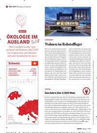 Titelbild der Ausgabe 110/2019 von ÖKOLOGIE IM AUSLAND Teil 2. Zeitschriften als Abo oder epaper bei United Kiosk online kaufen.