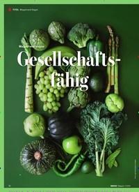 Titelbild der Ausgabe 110/2019 von Megatrend Vegan: Gesellschaftsfähig. Zeitschriften als Abo oder epaper bei United Kiosk online kaufen.