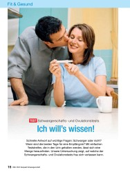 Titelbild der Ausgabe 10/2008 von Fit & Gesund: TEST Schwangerschafts- und Ovulationstests: Ich will's wissen!. Zeitschriften als Abo oder epaper bei United Kiosk online kaufen.