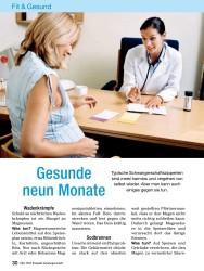 Titelbild der Ausgabe 10/2008 von Gesunde neun Monate. Zeitschriften als Abo oder epaper bei United Kiosk online kaufen.