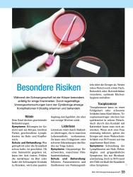 Titelbild der Ausgabe 10/2008 von Besondere Risiken. Zeitschriften als Abo oder epaper bei United Kiosk online kaufen.